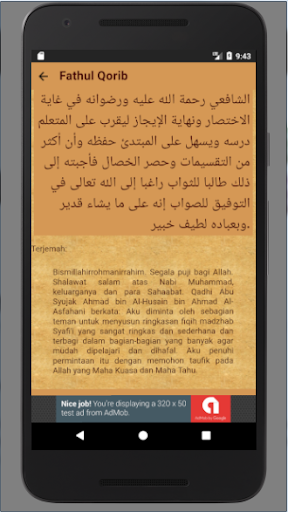 Qorib pdf fathul terjemahan