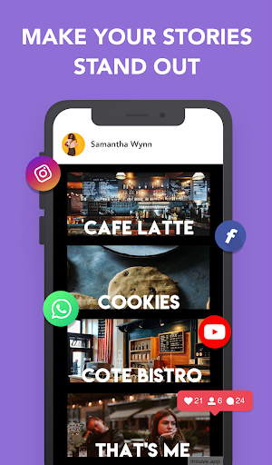 Mouve - animated video maker for Instagram, Tiktok 0.481 Apk for Android 10