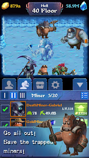 Mine Legend –  Idle Clicker & Tycoon Mining Games 4