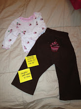 Photo: $28 OBO Made by Inspired. Was over $40 New. Cupcake Set- Crescent Moon Pants with Inner Soaker and Custom Tshirt.