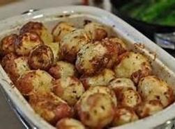 Dull Roasted Red Potatoea Recipe