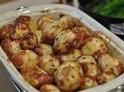 Dull Roasted Red Potatoea