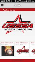 Screenshot of NC USSSA