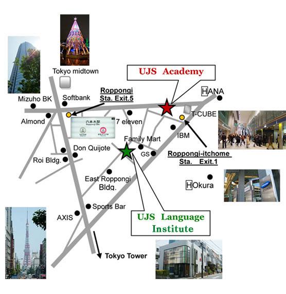 bản đồ tới học viện UJS