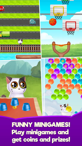 My Cat Mimitos 2 u2013 Virtual pet with Minigames  captures d'u00e9cran 1