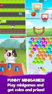 My Cat Mimitos 2 – Virtual pet with Minigames Screenshot