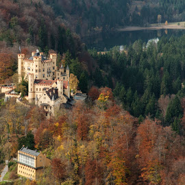 Schloss Hohenschwangau by Keith Reling - Buildings & Architecture Public & Historical ( schloss hohenschwangau, castle, germany )