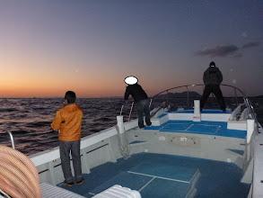Photo: 改造後、一発目の出航です! さあー! ヒラス!「出てこいやー!」