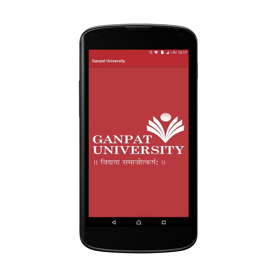 Ganpat University- screenshot