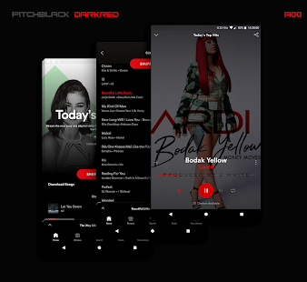 PitchBlack | Substratum Theme ✪ Nougat/Oreo/OOS 8 Screenshot