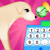 dog cash register shopping game