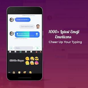 Colorful Themes Emoji Keyboard - náhled