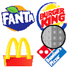 Food Logo Color by Number: Pixel Art Coloring Book icon