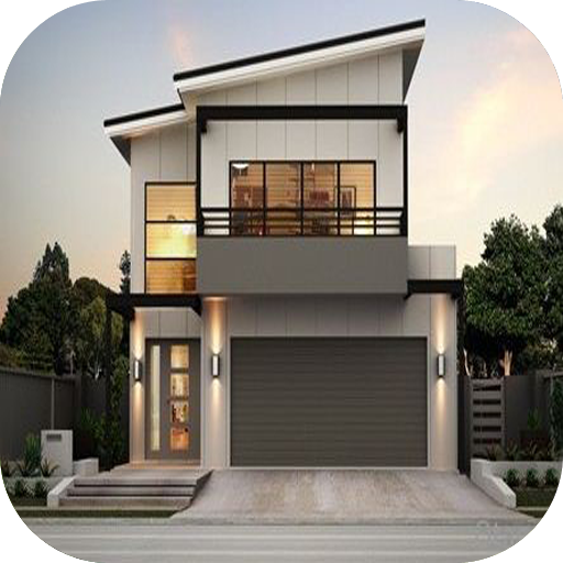 2 Floor Minimalist House Design