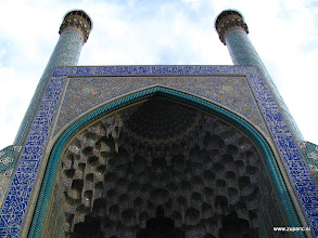 Photo: Masjed Jame Abbasi Mosque, Isfahan, Iran