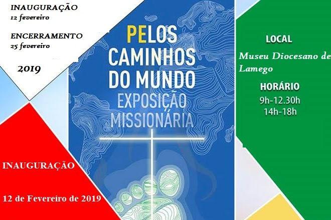 Igreja/Missões: Diocese de Lamego recebe exposição «Pelos Caminhos do Mundo»