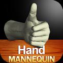 Hand Mannequin icon