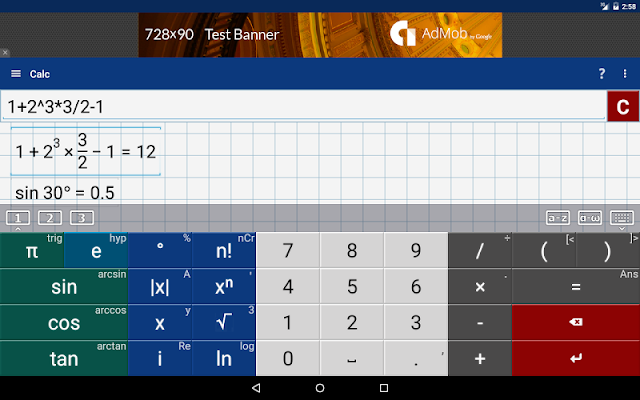 Graphing Calculator by Mathlab v4.2.96