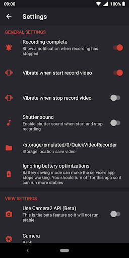 Download Quick Video Recorder - Background Video Recorder on PC