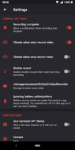 Quick Video Recorder Pro Apk- Background Video Recorder 7