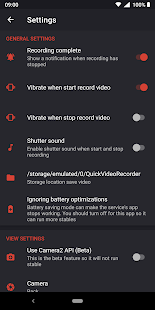 Quick Video Recorder - Background Video Recorder Screenshot