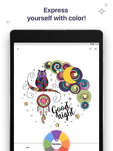 Coloring Book for Me & Mandala apk screenshot 15