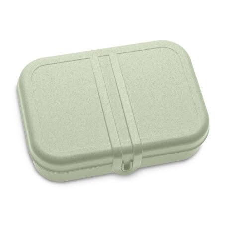 PASCAL L, Lunchlåda / Lunchbox, Organic grön 2-pack