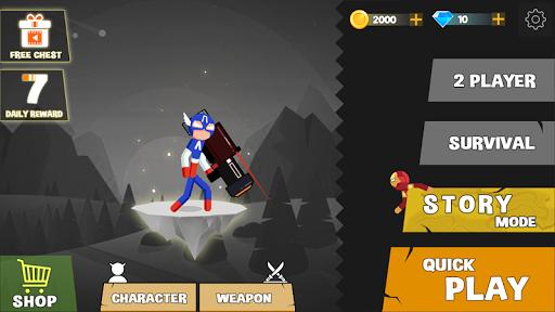 Spider Stickman Fighting - Supreme Warriors 1.1.1 screenshots 4