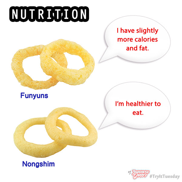Review of Funyuns and Nongshim Onion Flavored Rings