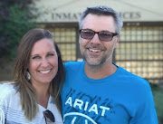 Josh Horner with his wife after being released from jail.
