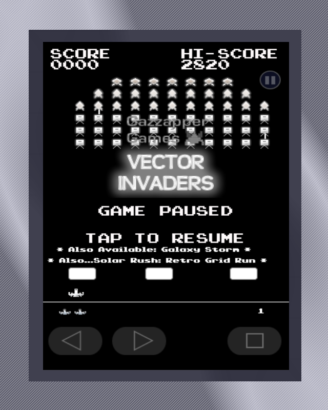 Vector Invaders (Premium)- screenshot