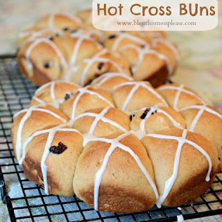 Whole Wheat Hot Cross Buns.