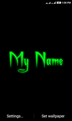 My Name Neon