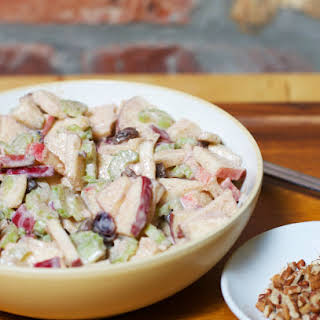 Crunchy Apple Salad.