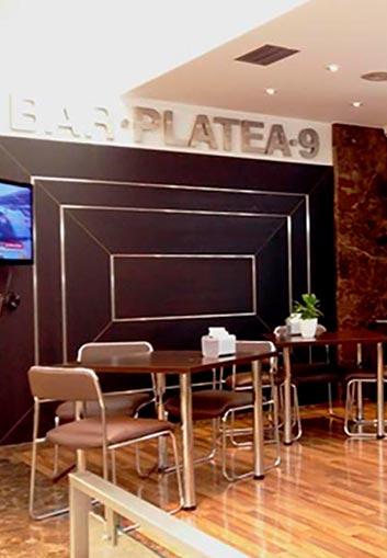 Cafetería <br>Platea 9
