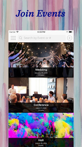 EventCha - Event Planner, Conference, Wedding RSVP 4.0.5 screenshots 2