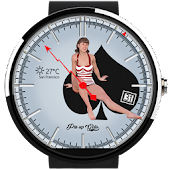 Pin-up Girl Watch Face