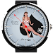 Pin-up Girl Watch Face Icon