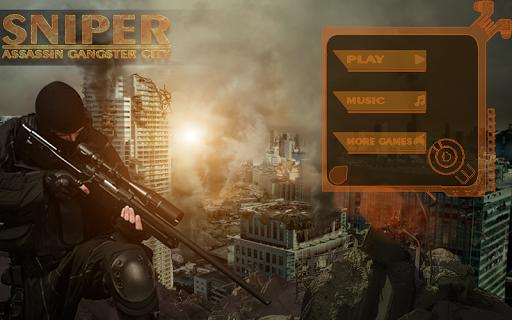 Sniper Assasin Gangster City3D