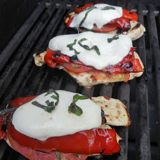 Donna's Grilled Caprese Chicken.