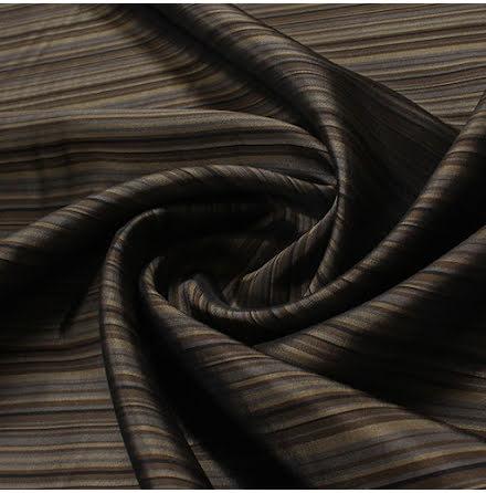Rand Viskostyg - bruna nyanser