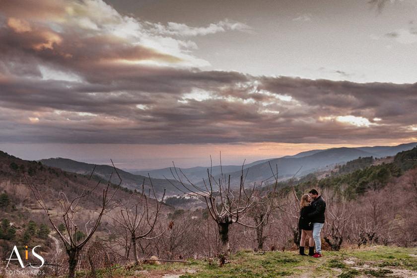 Preboda en la sierra de Gredos