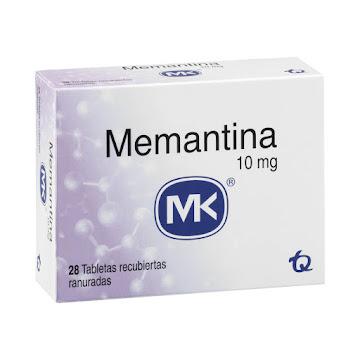 MEMANTINA MK 10MG   TABLETA CAJA X28TAB.