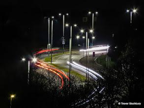 Photo: Traffic on Provost Watt Drive, Aberdeen