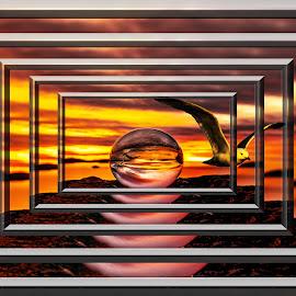 by Bjørn Bjerkhaug - Digital Art Abstract
