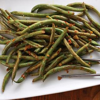 Kim Alter's Late-Night Green Beans