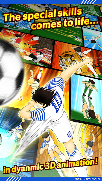 Captain Tsubasa: Dream Team- screenshot