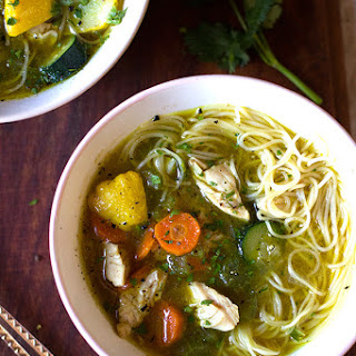 Chicken, Vegetable and Noodle Soup Recipe