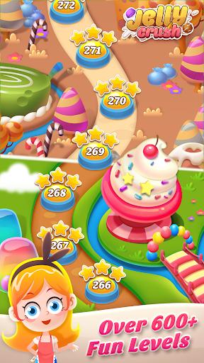 Télécharger Gratuit Jelly Crush - Match 3 Games & Free Puzzle 2019  APK MOD (Astuce) screenshots 2