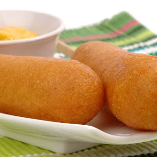 Old-Fashioned Corn Dogs.